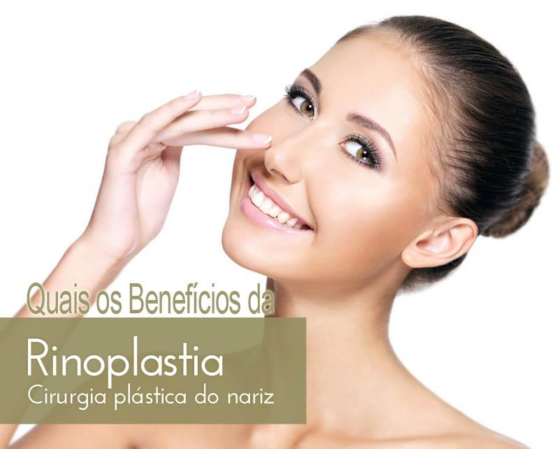 Quais os benefícios da Rinoplastia?